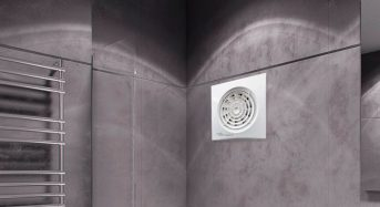 What power and type of in-line bathroom extractor fans should I be looking for?